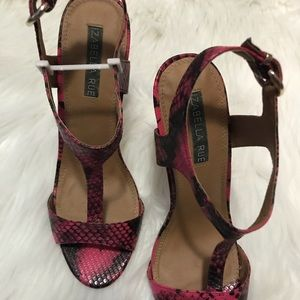Shoes - Pink sandals NWT